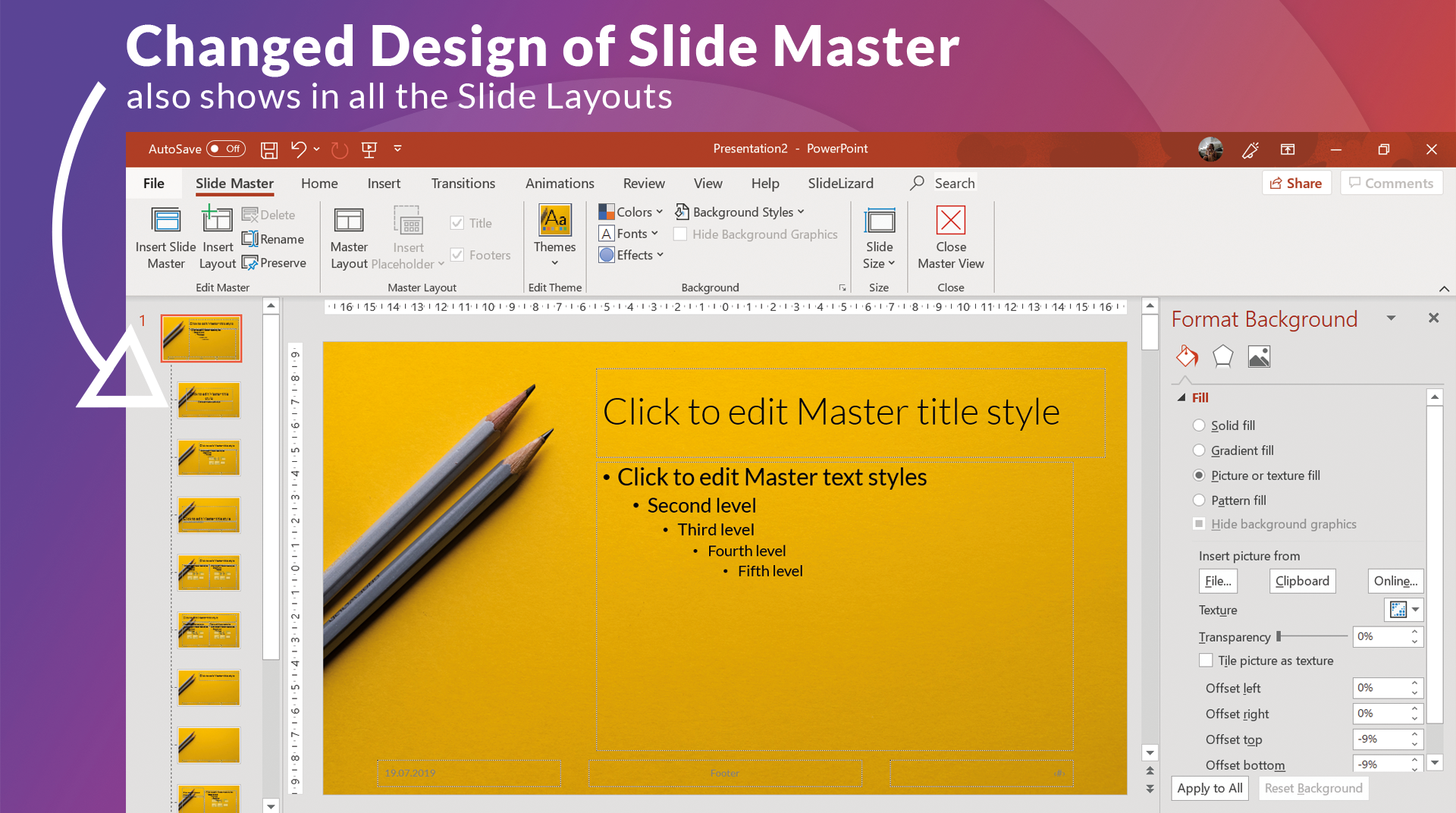 How To Create Your Own Powerpoint Template 2020 Slidelizard