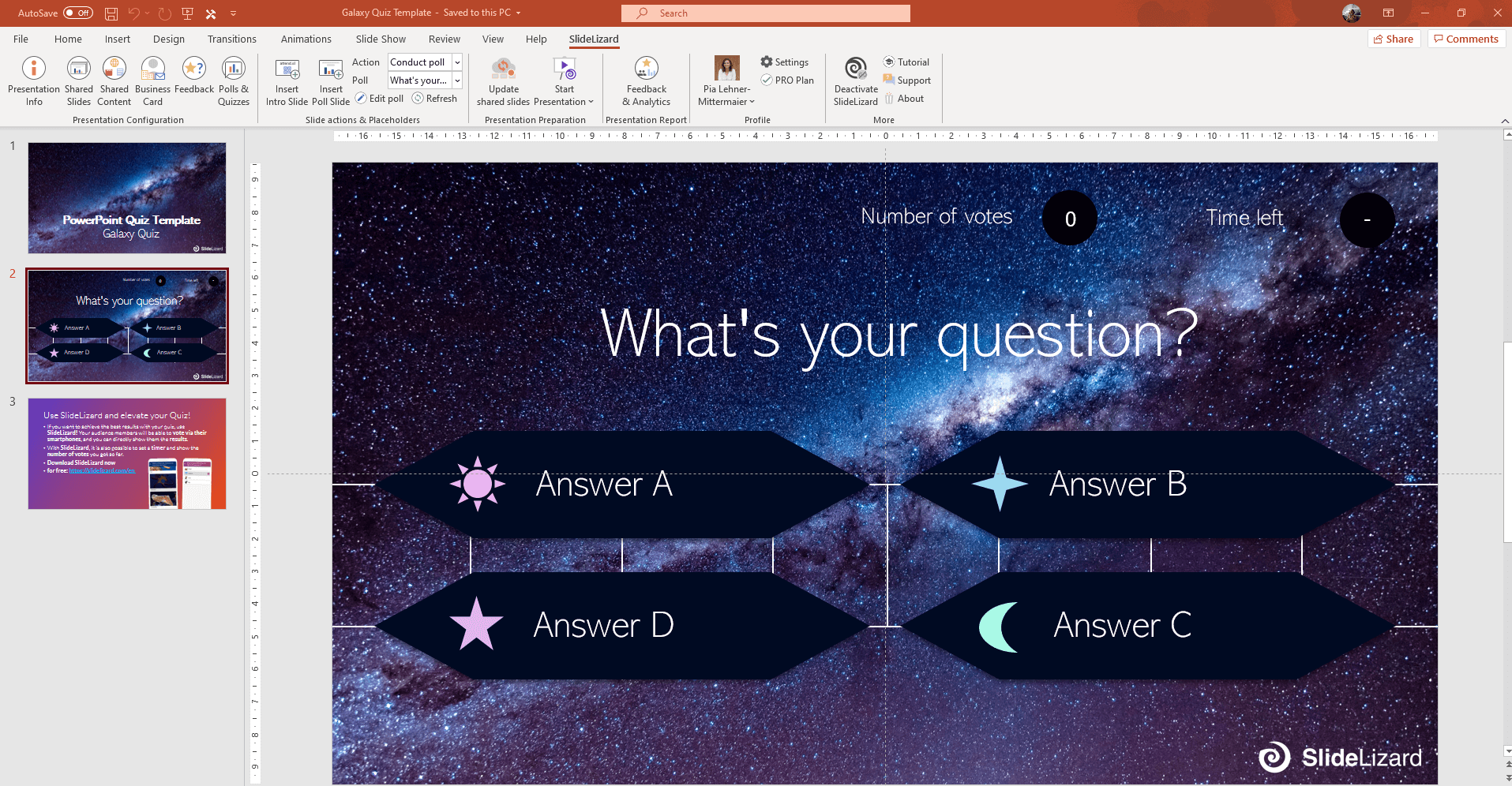 21 free interactive PowerPoint Quiz Templates (21)  SlideLizard® Pertaining To Powerpoint Quiz Template Free Download