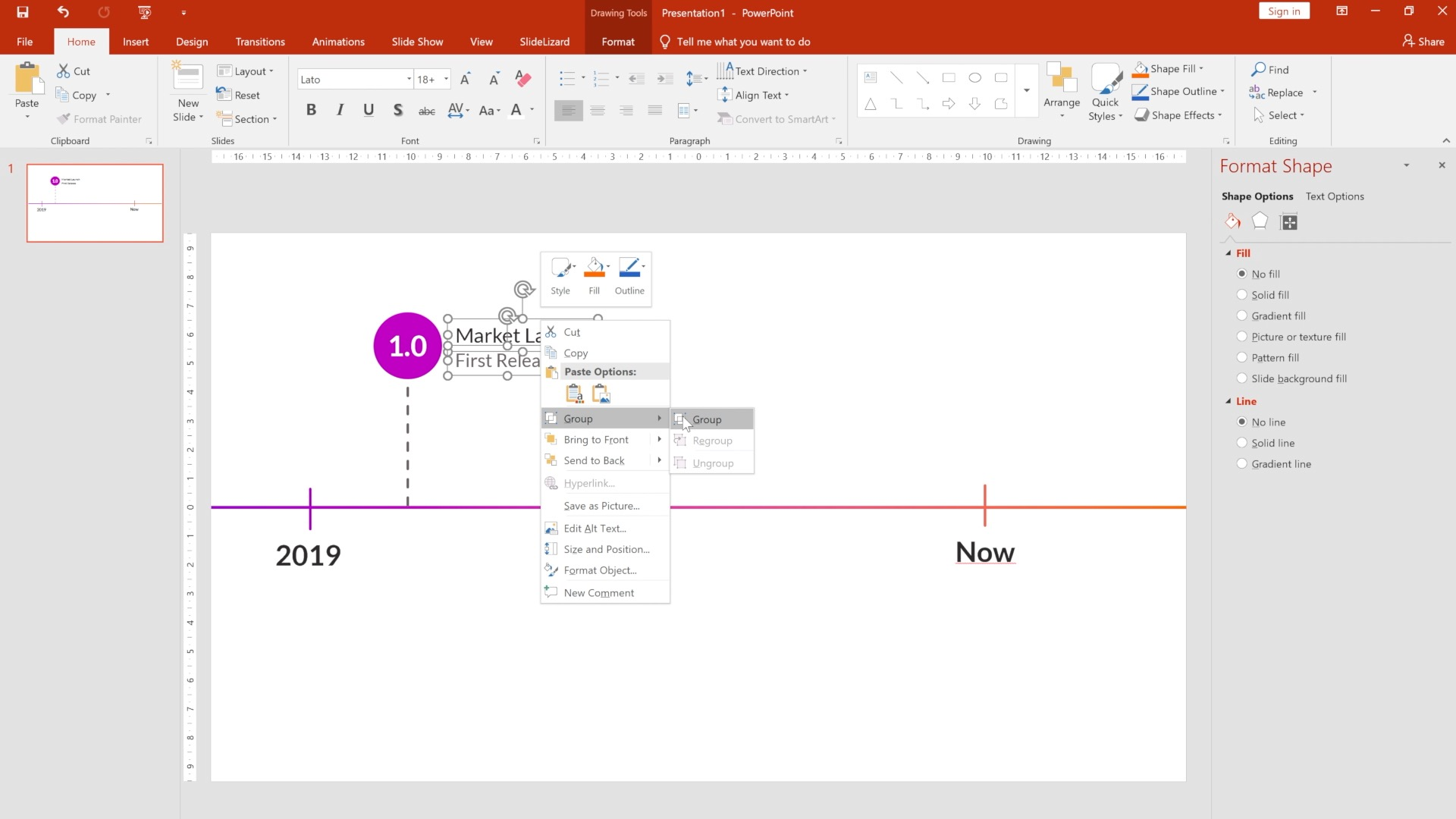 Animated Timeline Template For Powerpoint 2021 Slidelizard