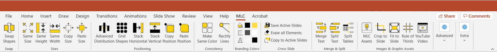 MLC PowerPoint Add-In