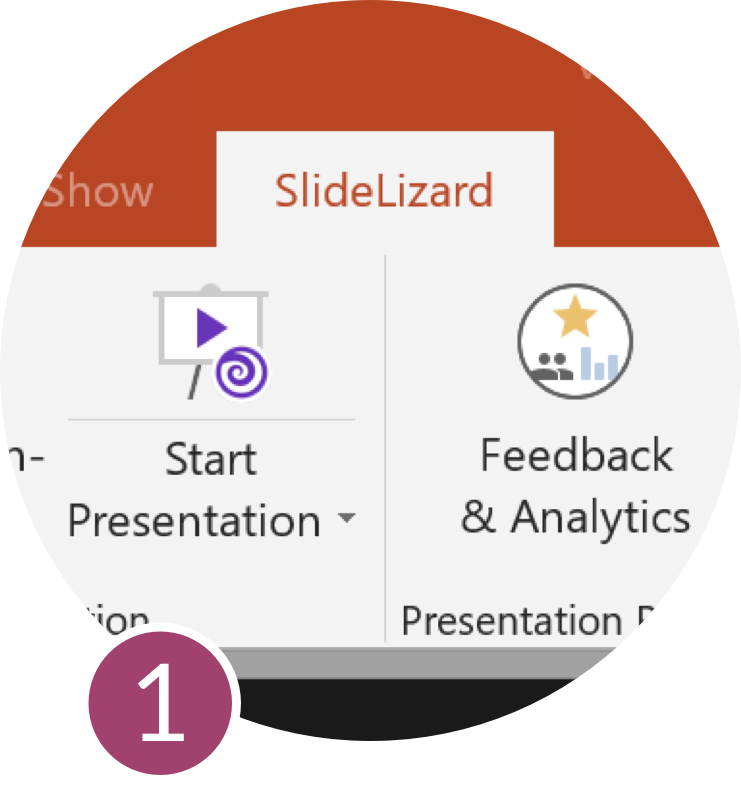 SlideLizard: Audience Interaction Tool for PowerPoint™